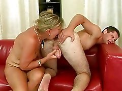 alt, ass licking, blowjob, schwanzlutschen, fellation