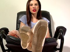 Ballet Sweaty Foot Seduction and Blackmail! t