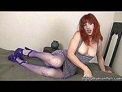 American mother i'd like to fuck Amber Dawn stuffs her muff with sex tool redhead porn fearsome-menacing 6 min