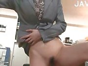 Japanese banged in office