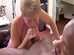 blond, pipe, mamie, interracial