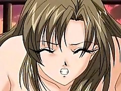 Busty anime chains and creampie