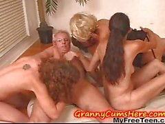 Mature Has Swingers Party With Teens