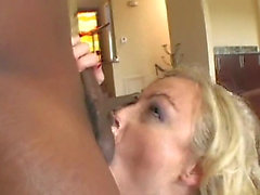 Adrianna Nicole fucks 2 black cocks