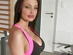 Aletta Ocean Fucks some dude at the Gym