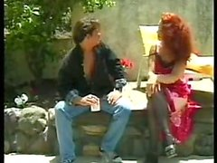 SEXY MOM n113 redhead hairy mature with a yong man