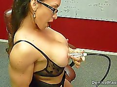Denise Masino - Momma Nipple Pumping Video - Female Bodybuilder