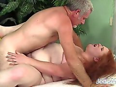 Red Head BBW Scarlett Raven fucked