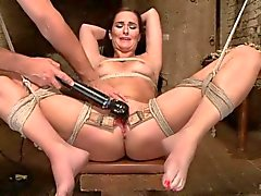 bianca breeze gets pussy vibed and fucked a dildo