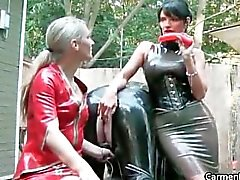 Sexy Carmen in hard-core s&m bdsm action part5