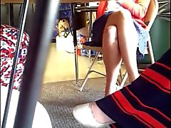 Teacher Under Table Upskirt! 02