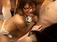 Classroom full of naked students turns into a fuck fest org