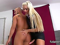 Girls penetrate bfs ass hole with huge strapons and squirt c