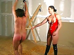 French slave does everything for the mistress