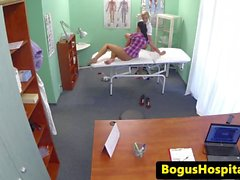 Euro patient pussylicks and fingers nurse
