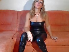 bdsm, blondes, allemand, latex