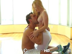 FantasyHD - Samantha Rone doing 69 on her yoga mat