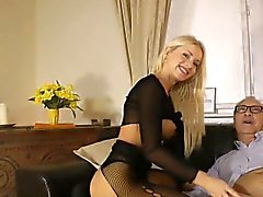 Stockings ho spurts rod