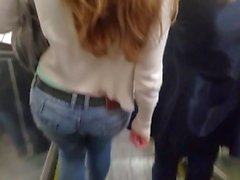 Candid Ass in Jeans - Compilation
