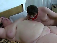 Wild orgy with fat granny