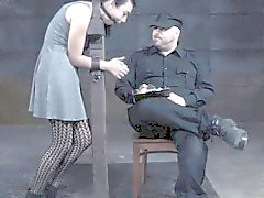 Sex slave toyed and flogged by her master