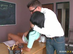 Rough sex in the classroom with Gabriella Salvatore