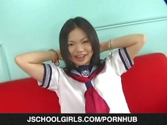 Young Kokone plays with her wet vag on cam