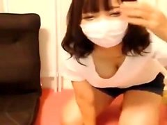 Webcam Japanese Gal masturbation