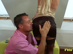 Hardcore Anal Fuck To Calm Her Man Down