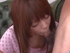 Steamy blow bang scenes with kinky Miyu Aoi