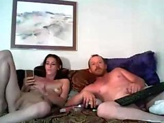 Milf brunette play with dildo on webcam
