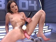 Machine Fucked and Tied Up