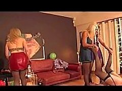 3A THE NAUGHTY FEMDOM PARTY 3A ukmike video