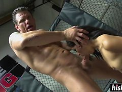 Latina slut gets drilled in the ring