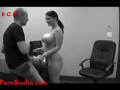 Casting Big titty shy girl fucked and swallows Chris