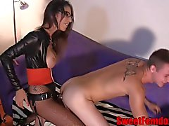 Hot Bitches Pegging Sissy Boys STRAP ON FEMDOM