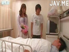 Horny Couple Making Out In Hospital