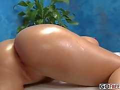 18 years old blonde Lacey Johnson aka Lacy Johnson fucked after getting massage