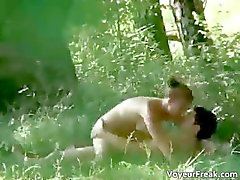 A couple up the park voyeur webcam clip part3