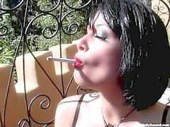 Sexy Tory Lane is so blisteringly hot shes smoking