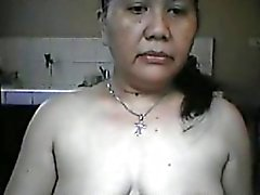 Busty Mature Filipina Masturbating