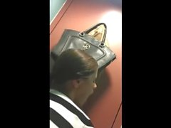 Amateur girl suck and fuck on public toilet