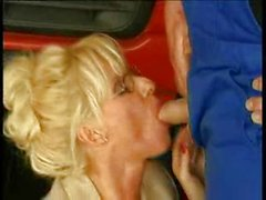 le sexe anal, gros seins, blond, pipe, caucasien