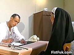 These two dirty doctors stuff nun sexy