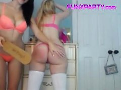 Pink Thong FUNXPARTY Beauties Need To Be Punished With You