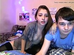 College Couple goes wild on cam