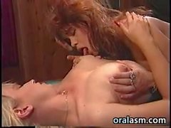 Lesbian Lick Pussy On A Pool Table