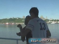 Sexy french girlfriend cruise ship sex part2