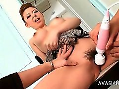 Wet Juicy Pussy Stimulated By Vibrator Till Orgasm