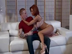 PureMature Redhead MILF loves to get titty fucked